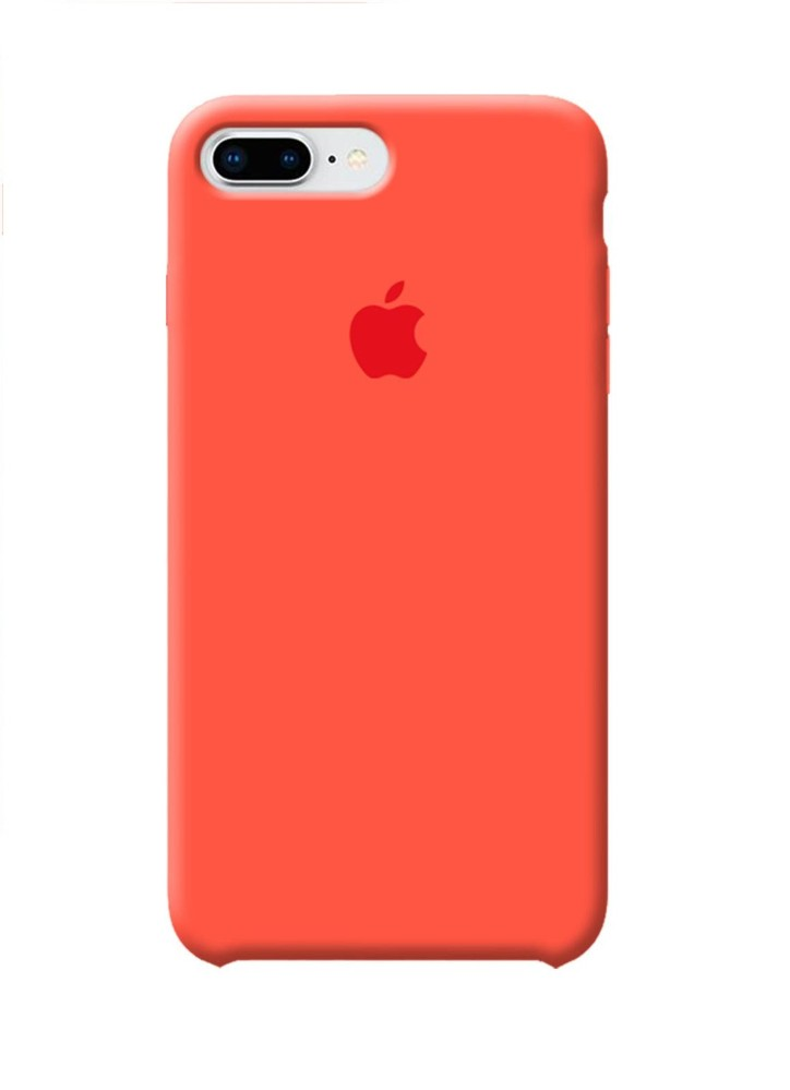 Apple iPhone 8 Plus Silicone Case (HC) - Orange