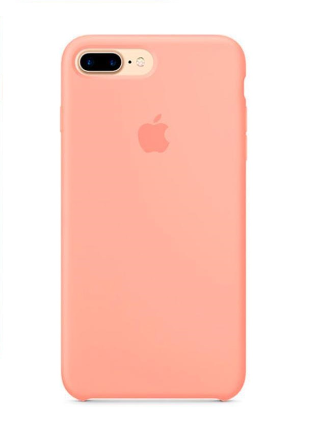 Apple iPhone 8 Plus Silicone Case (HC) - Pink