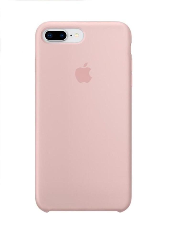 Apple iPhone 8 Plus Silicone Case (HC) - Pink Sand