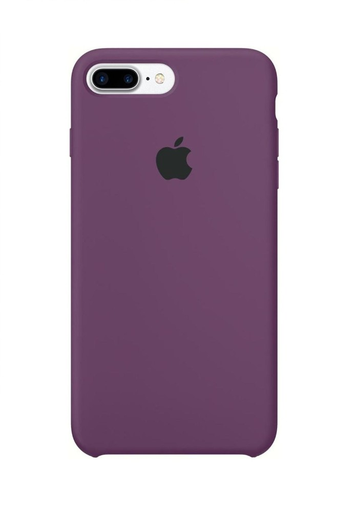 Apple iPhone 8 Plus Silicone Case (HC) - Purple