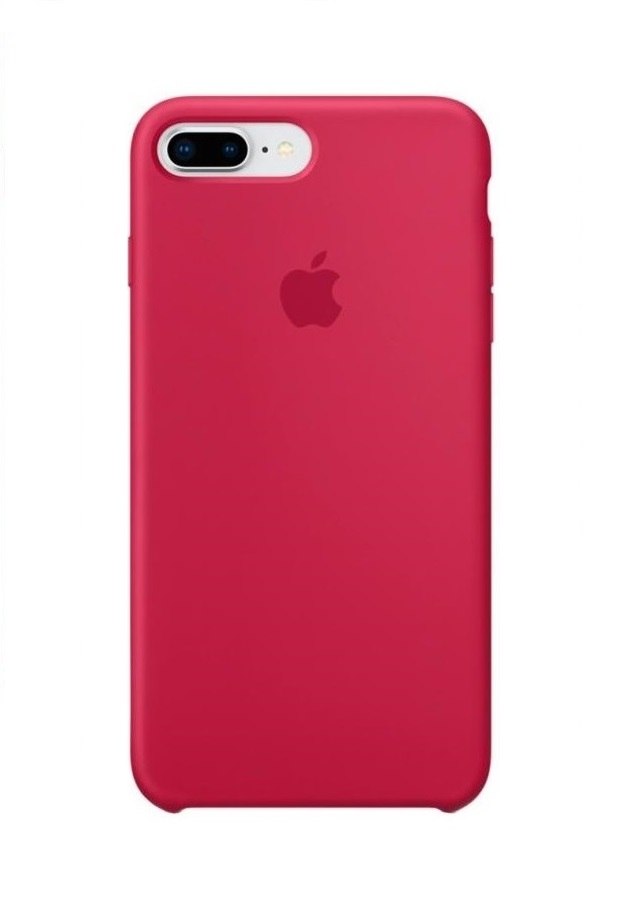Apple iPhone 8 Plus Silicone Case (HC) - Rose Red