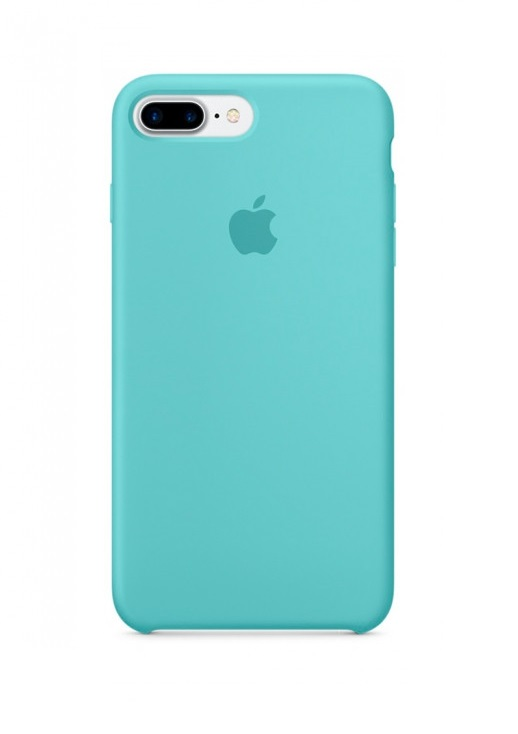Apple iPhone 8 Plus Silicone Case (HC) - Sea Blue