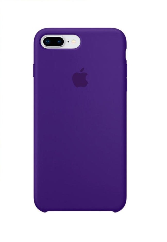 Apple iPhone 8 Plus Silicone Case (HC) - Ultra Violet