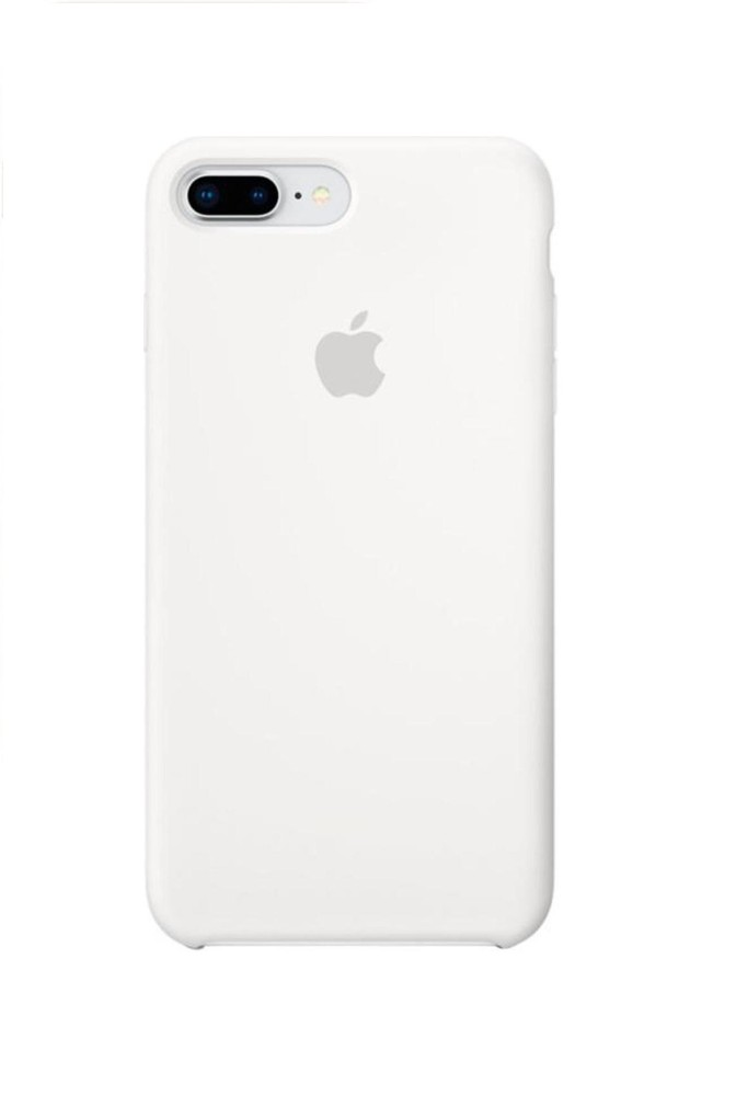 Apple iPhone 8 Plus Silicone Case (HC) - White