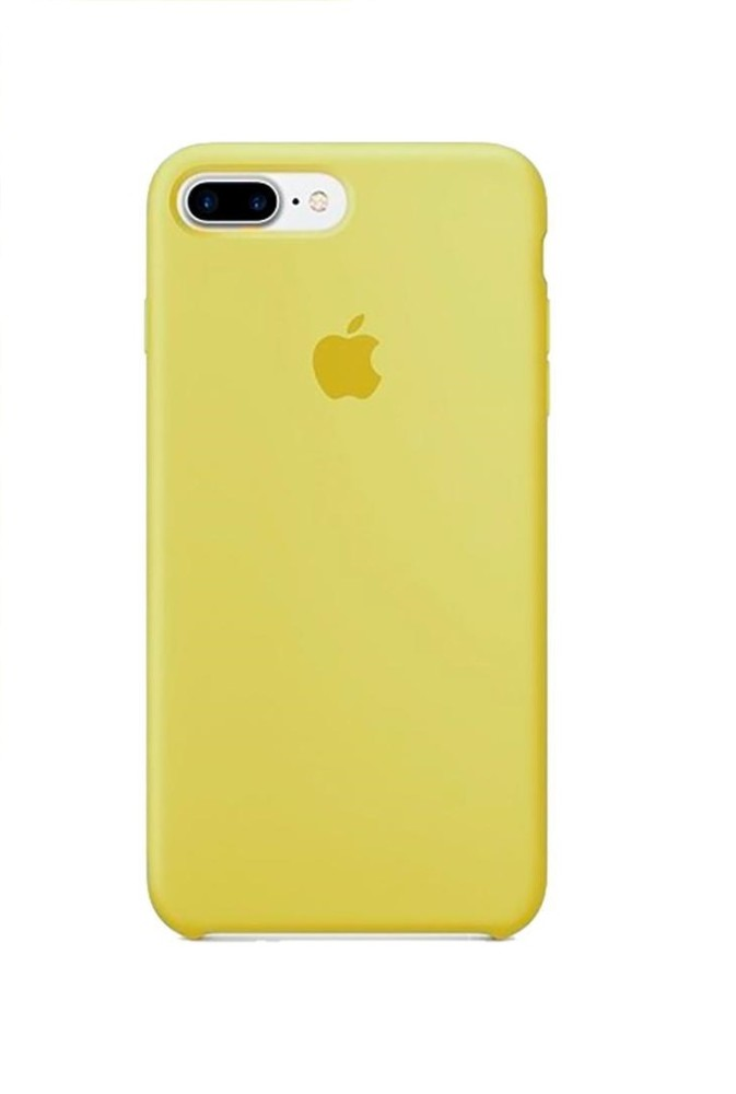 Apple iPhone 8 Plus Silicone Case (HC) - Yellow