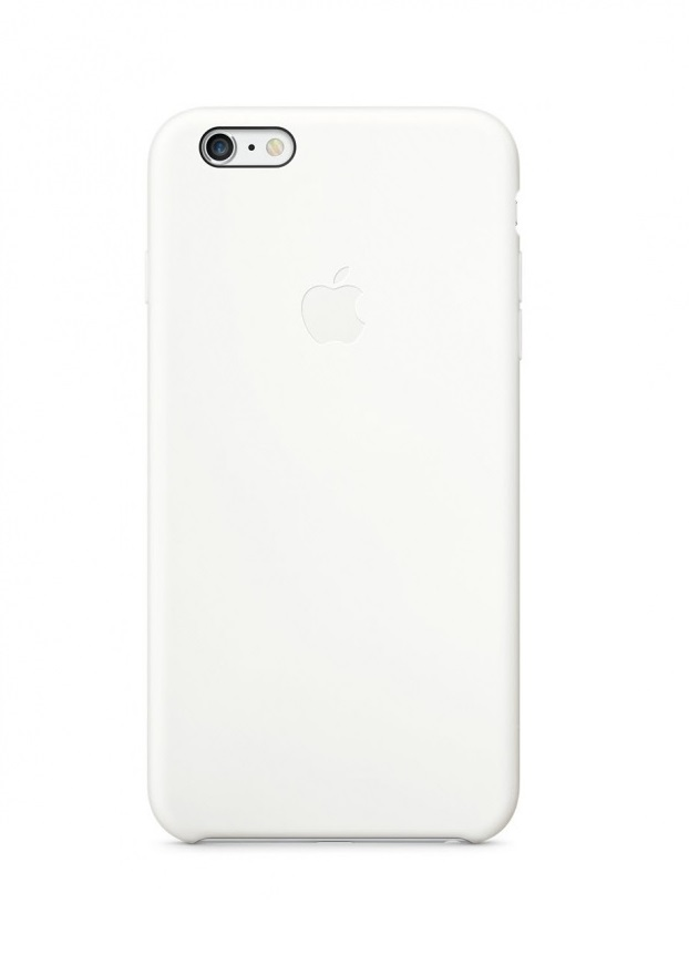 Apple iPhone 6S Plus Silicon Case (HC) - White