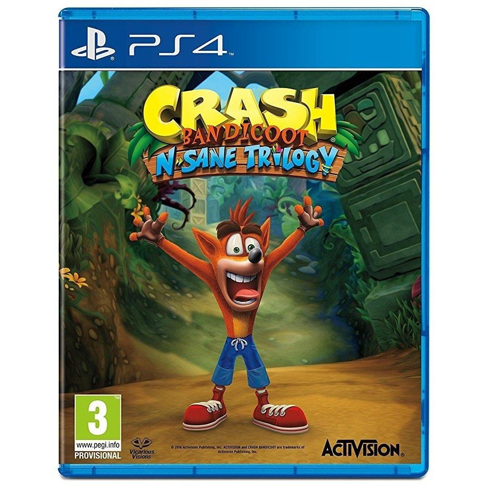 GAME CRASH BANDICOOT N.SANE TRILOGY (ENG)