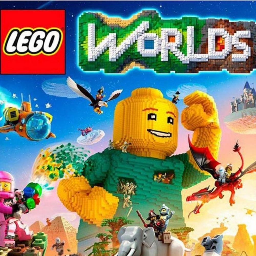GAME LEGO WORLDS (RUS)