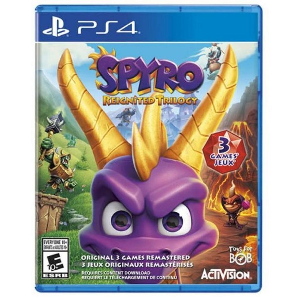 GAME SPYRO REIGNITED TRILOGY PS4 (ENG)