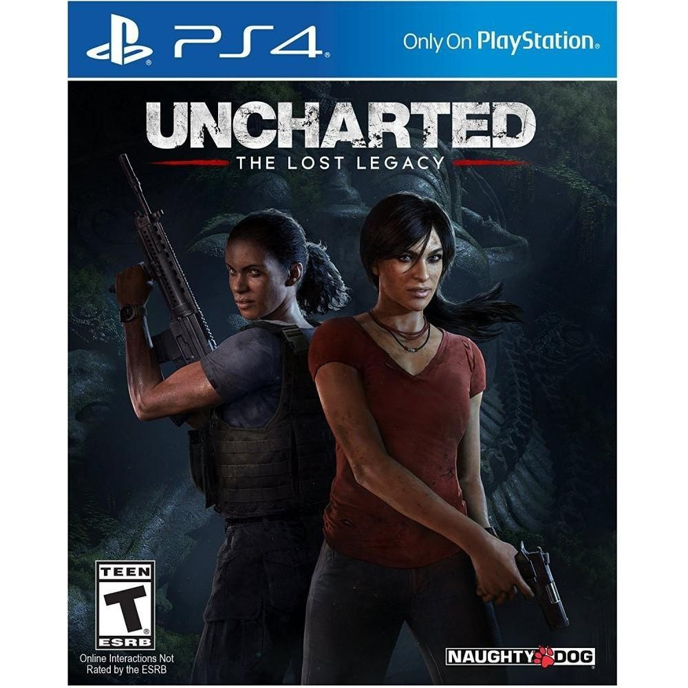 GAME UNCHARTED: Lost Legacy (RUS)