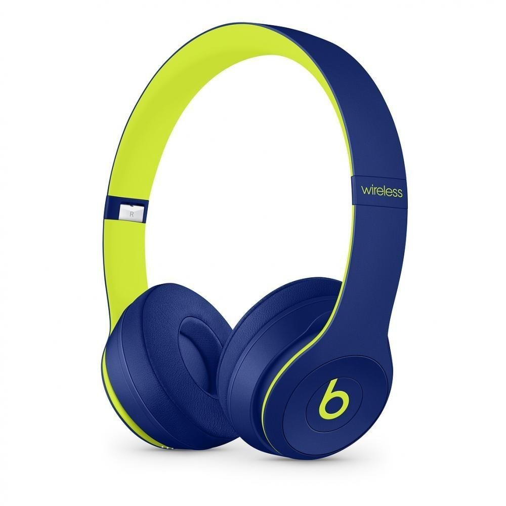 Beats by Dr. Dre Solo3 Wireless On-Ear Headphones Pop Indigo (MRRF2)